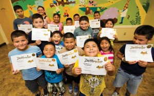 Salud Immokalee participants proudly display the certificates earned for completion of the first phase of the program.