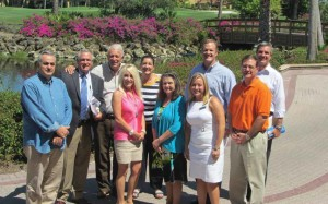 Drug Free Collier Board Members from left to right: Rey Pezeshkan; Scott Salley, Past President; Dr. Frank Nappo, President; Mimi Scofield; Dr. Nancy Graham; Susan Kimper; Melanie Black, Executive Director; Brian Goguen; Larry Dulski; and Dave Dettloff. Visit www.DrugFreeCollier.org for a complete list of Board Members.