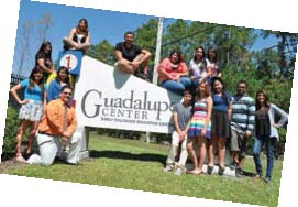 Guadalupe Center Sign