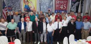 THE SACRED HONOR OF OUR COLLIER COUNTY'S GREATEST GENERATION CONTRIBUTED TO PRESERVING THE FOUNDING PRINCIPLES OF AMERICA. FOR THIS WE GIVE THANKS. 2014 NAPLES SPIRIT OF 45 BREAKFAST
