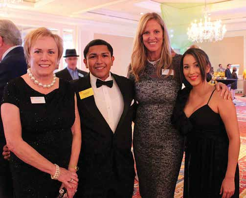 LOUISE PENTA, ALEX ARREGUIN, JOYCE HAGEN FITES AND BRITTANY GONZALEZ AT TIF 2014 CHARITY CLASSIC CELEBRATION